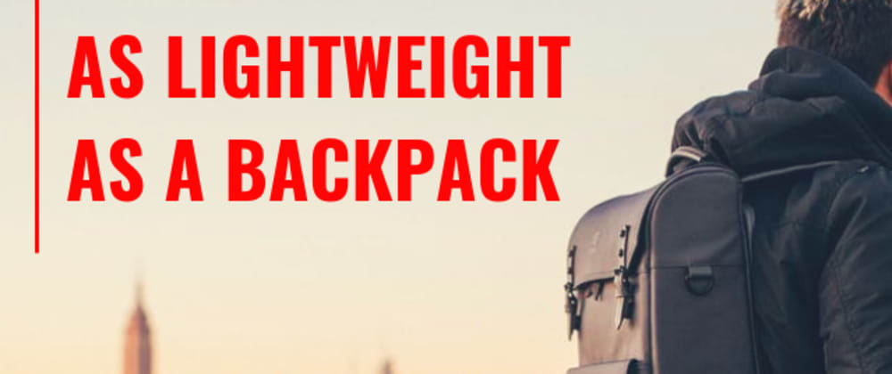 Cover image for Building Product Is Similar to Packing a Backpack