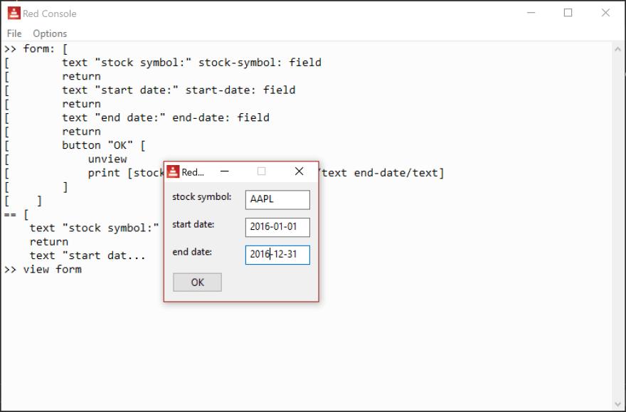 fields values
