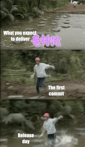It wasn't that easy