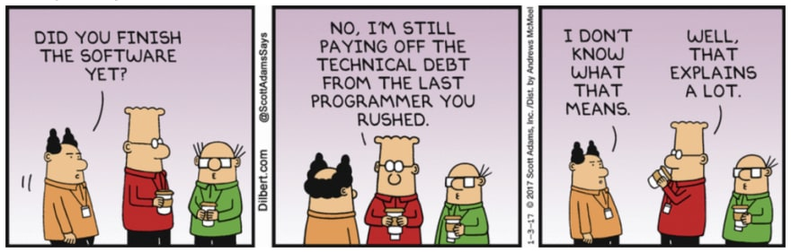 Misunderstanding Technical Debt