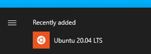 ubuntu program start menu
