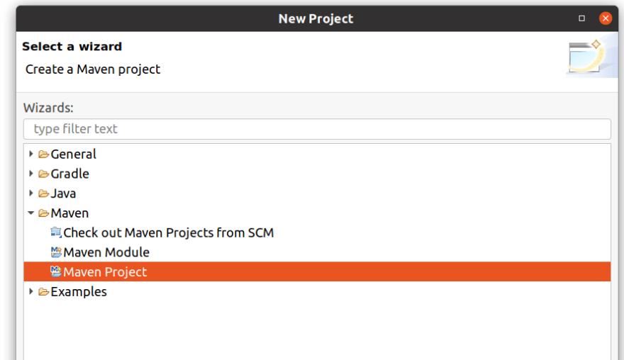 create Maven Project