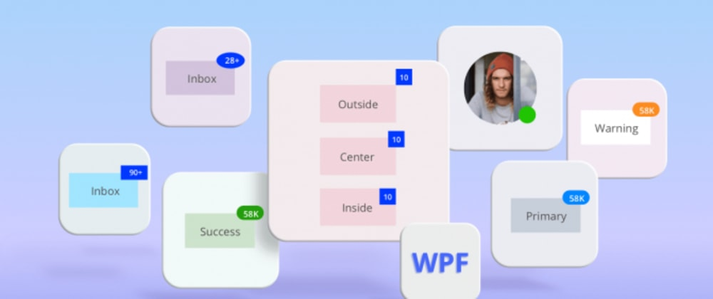 Cover image for Introducing New Badge Control for WPF