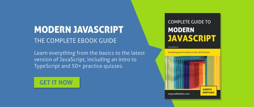 Cover image for Black Friday Sale - Complete guide to Modern JavaScript 50% off