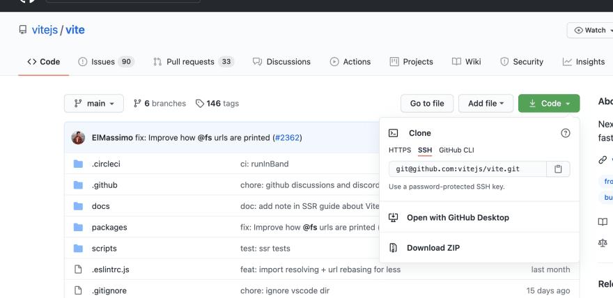 Vite GitHub