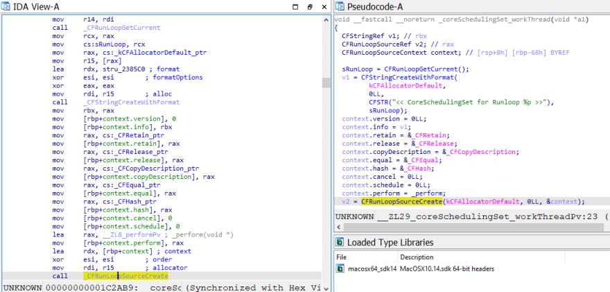 IDA decompiler