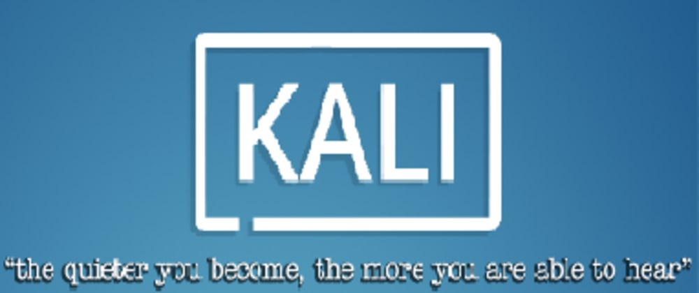 Cover image for Install Kali Linux