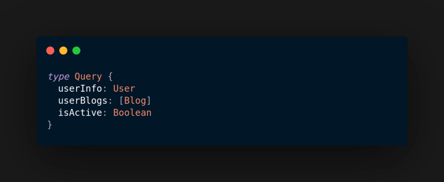 GraphQL Query Type