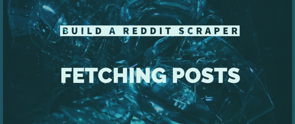 Cover image for Build a Reddit Scraper: Fetching Posts