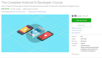 best online course to learn Android from scratch