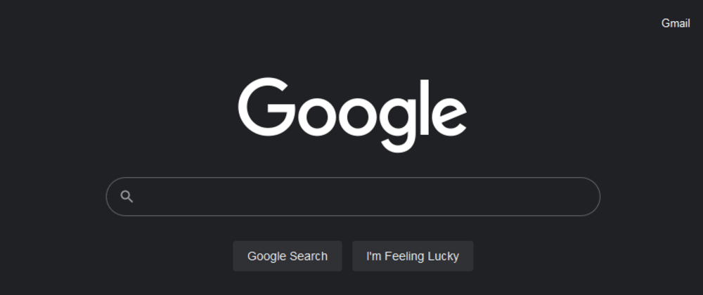 Cover image for Google search is experimenting with Dark mode