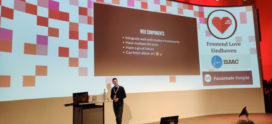 Lucien's talk about web components