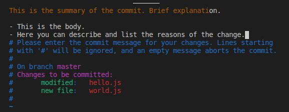 tree node one commit