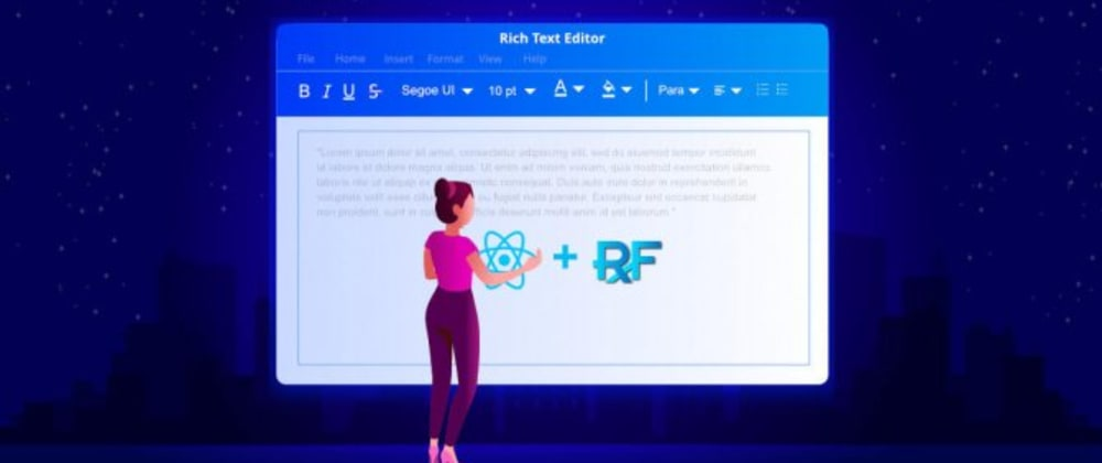 Cover image for How to Use Syncfusion's React Rich Text Editor with React Redux Form