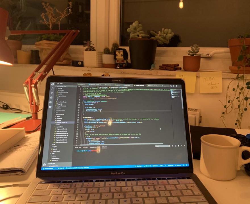 Evening coding