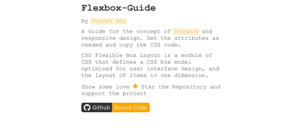 Cover image for ⚡ Flexbox-Guide 🚀 Flexbox layout made simple with an Interactive tool