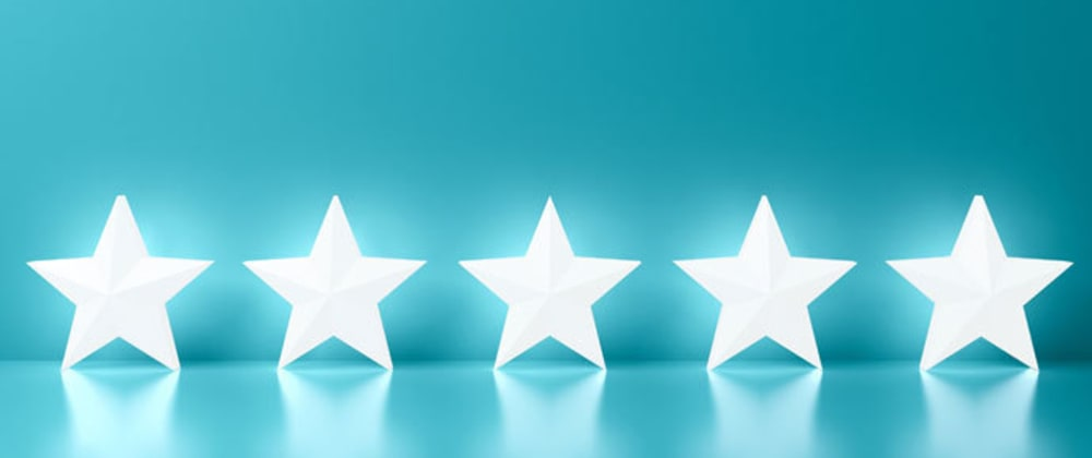 Cover image for Designing a Stars Rating program in vanilla JS
