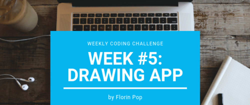 Cover image for Weekly Coding Challenge - Week #5 - Drawing App
