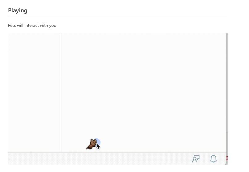 User cursor interacting with cat sprite in code editor