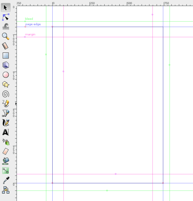 Inkscape Guide Lines
