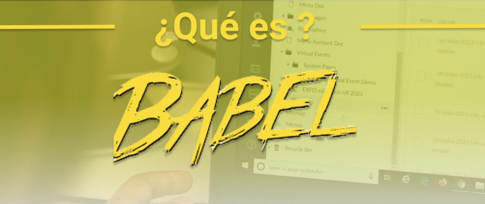 Cover image for ¿Qué es Babel?