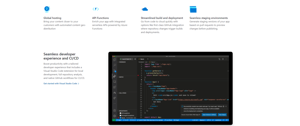 Cover image for Everything you need to know to deploy an Azure Static Web App