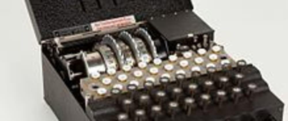 Cover image for Presenting Enigma Reloaded(a self hosted, offline, DIY, encryption webapp)