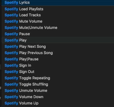 vscode-spotify screenshot