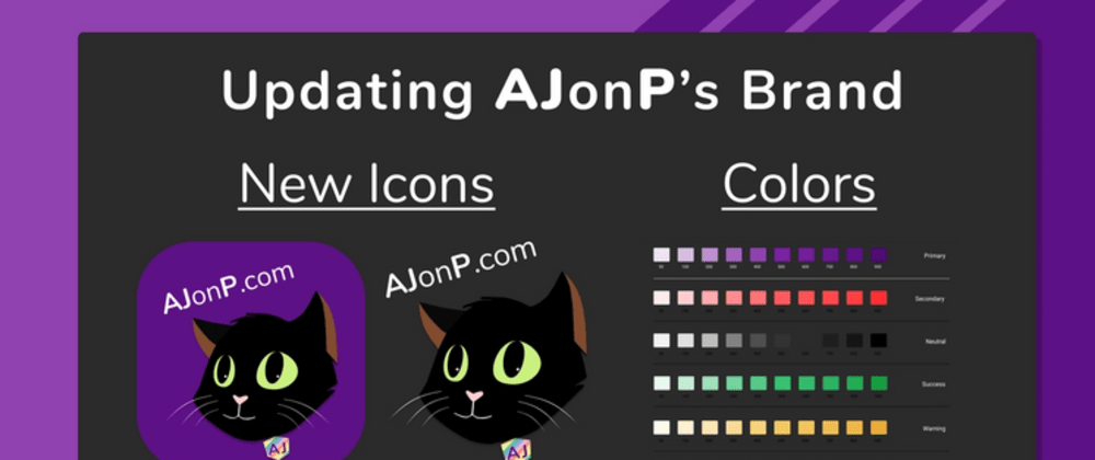 Cover image for Updating AJonP's Brand