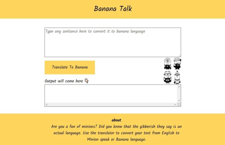 minion translator app image
