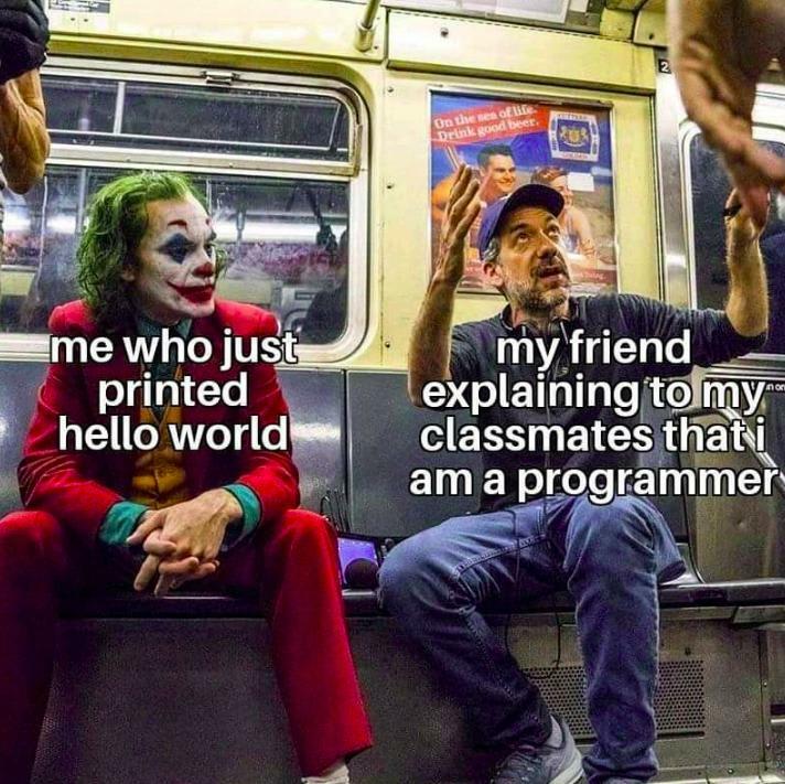 hello world meme