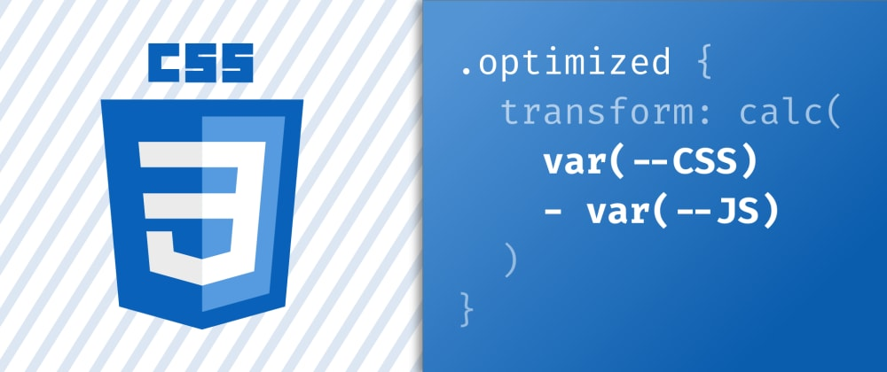 Cover image for How using CSS variables helped me cut down on JavaScript