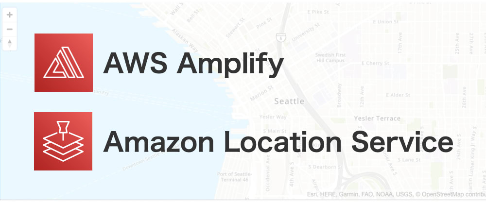 Cover image for Take a journey with your own map service by AWS Amplify and Amazon Location Service