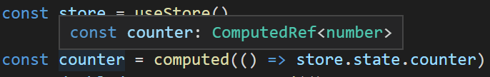 Typed state