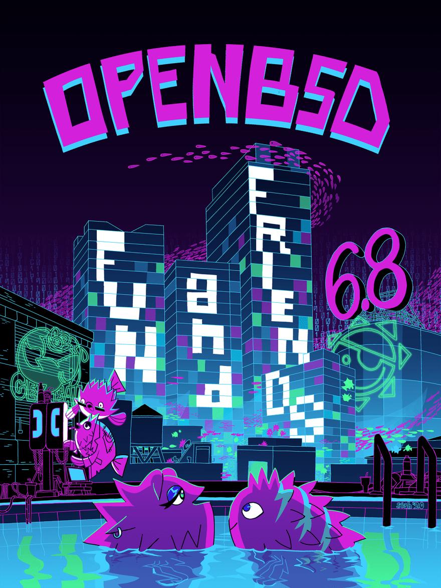 openbsd 6.8 artwork