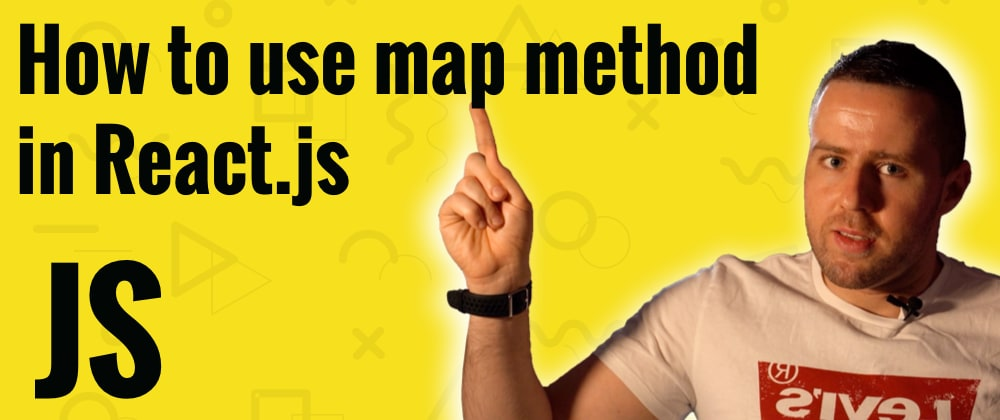 Cover image for How to use .map() method in ReactJS?