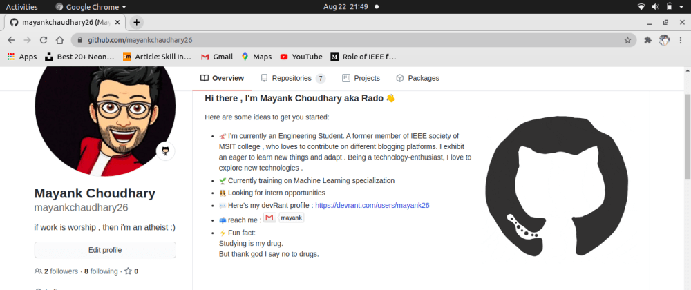 Cover image for Have you built your GitHub Profile README yet?