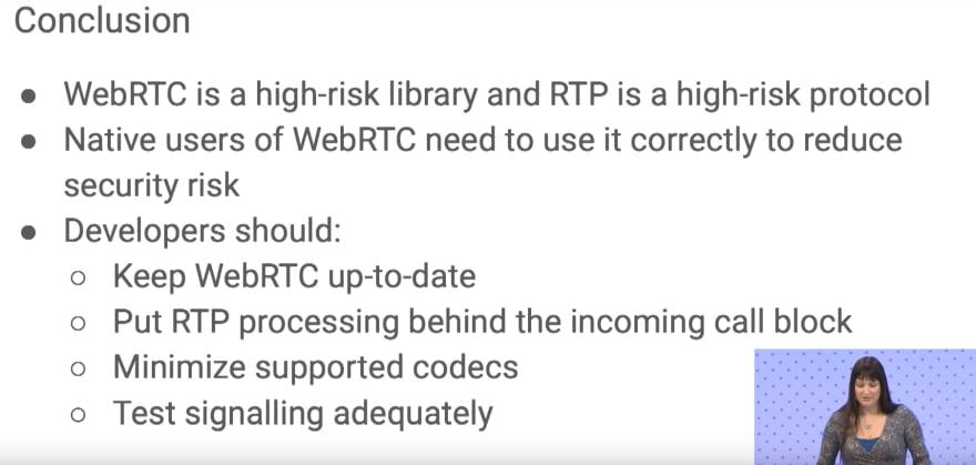 security-webrtc-risks