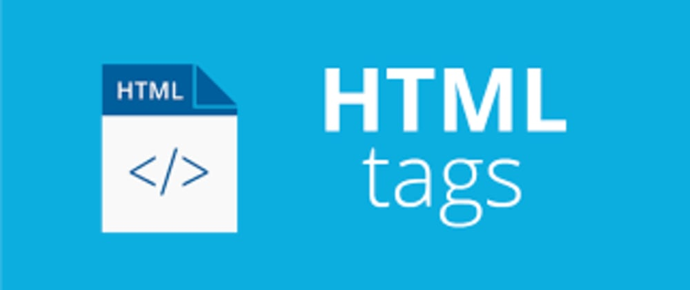 Cover Image for HTML tags Cheat Sheet