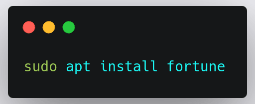 fortune-install