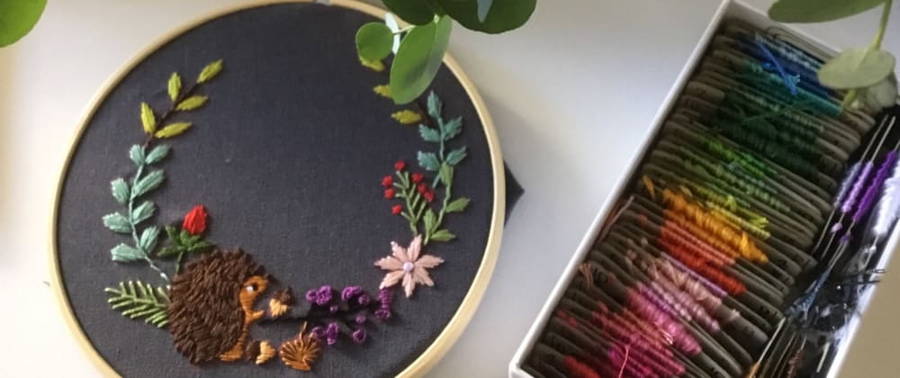 Cover image for A Beautiful Connection Between Coding and Embroidery