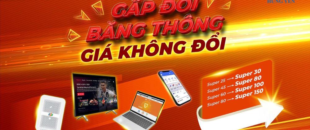 Cover image for Lắp mạng FPT tại thành phố Hưng Yên nhanh chóng, giá ưu đãi