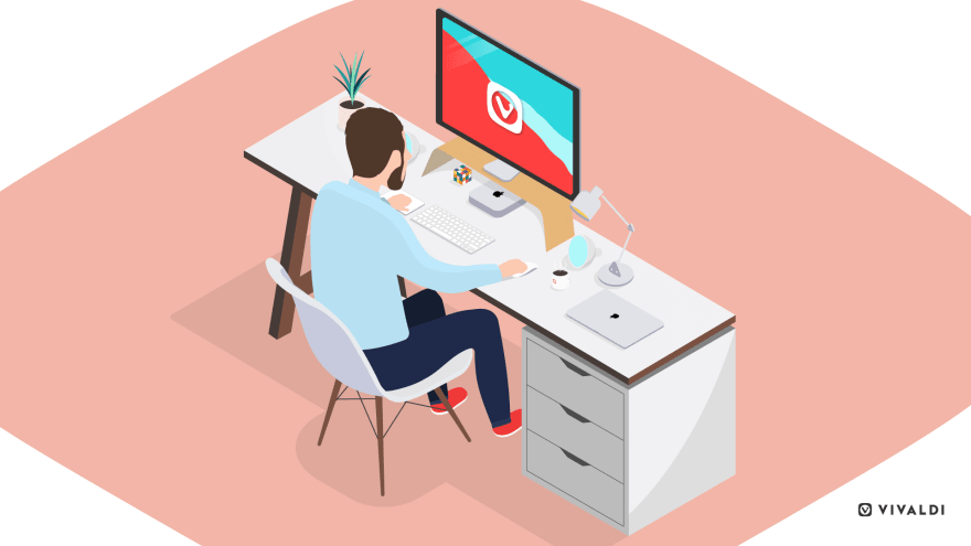 Best Safari alternatives: man works at desk
