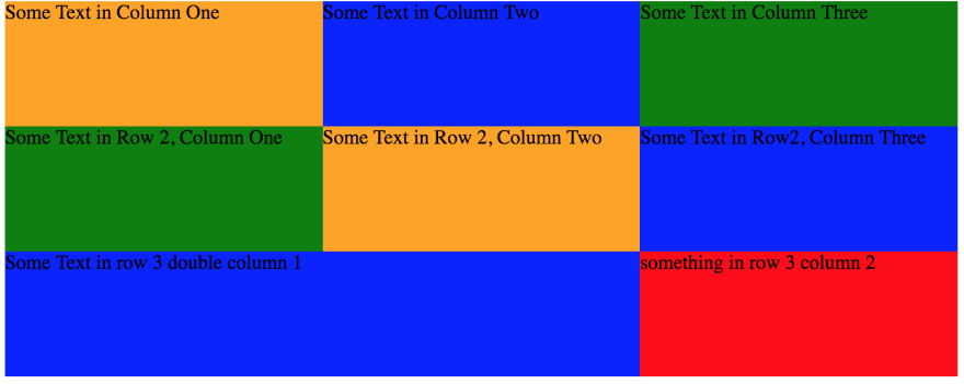 Ridiculously easy row and column layouts with Flexbox - DEV