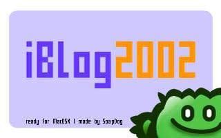 iBlog splash screen