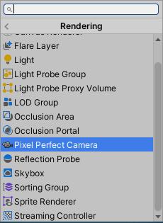 12-Unity_Add_Component_Pixel_Perfect_Camera