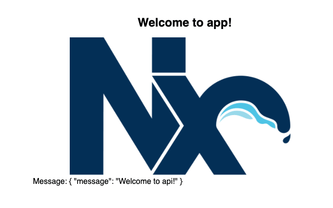 Initial Angular/Nx Welcome Page