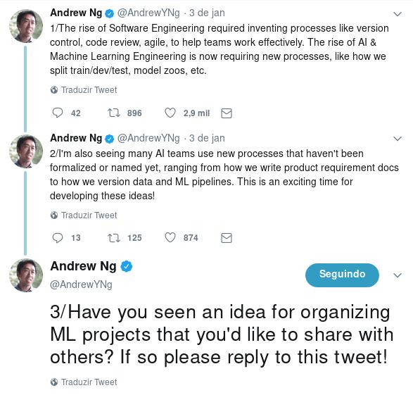 Andrew Ng's tweets