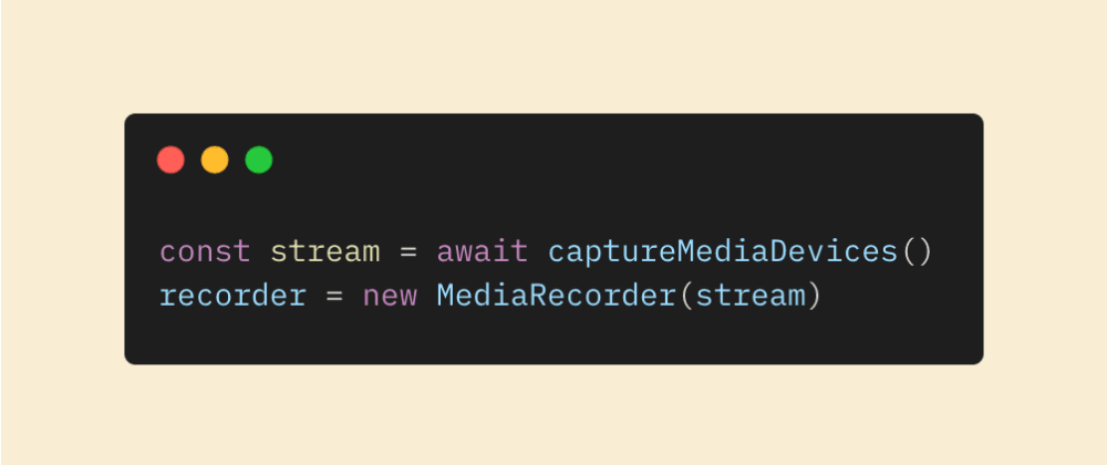 Cover image for Using the MediaStream Web API to record screen, camera and audio