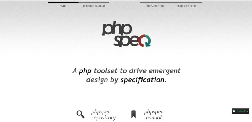 PHPSpec